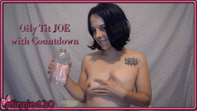 Oiled Tits JOE with countdown video from Minnie420