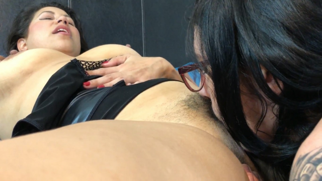 Lesbian Licking Fingering & Female Domination video from Miss Ellie