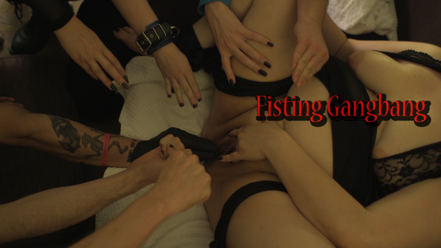 Fisting Gangbang video by MissFreudianSlit