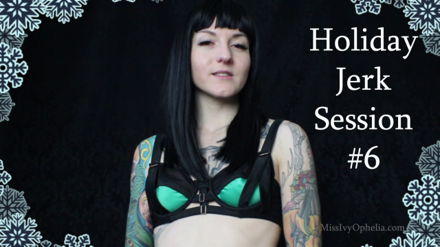 Holiday Jerk Session 6 video from Miss Ivy Ophelia