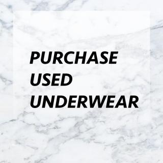 Purchase used undies photo gallery by Missjaylove420