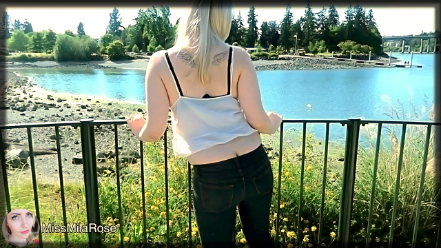 Public Ass Crack - Outdoor Edition video from MissMilaRose