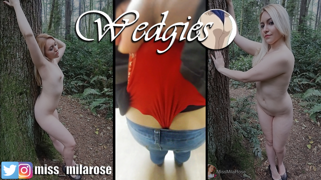Public Wedgie Challenge II video from MissMilaRose