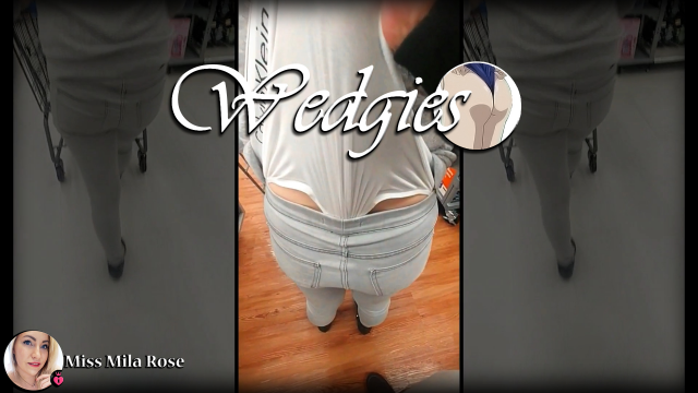 Public Wedgie Challenge VI FINAL video from MissMilaRose