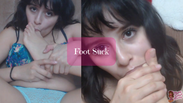 Foot Suck video from Monalovesmoaning