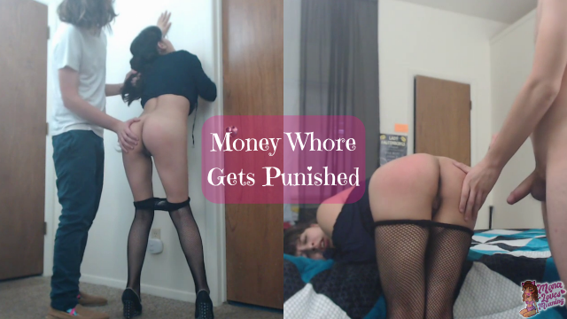 Money Whore Gets Punished video from Monalovesmoaning