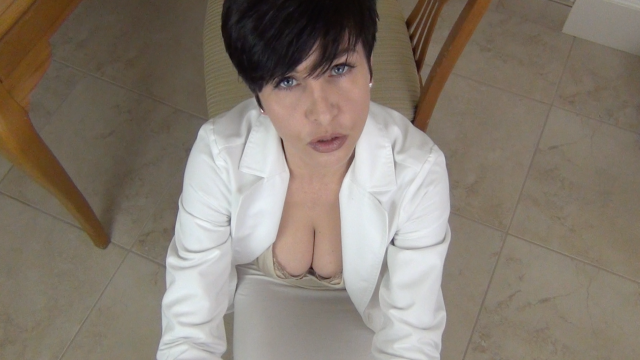 School Nurse Milks Your Little Dick video from Mrs Mischief
