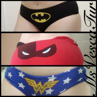 DC Panty Parade photo gallery by MsVescaTur