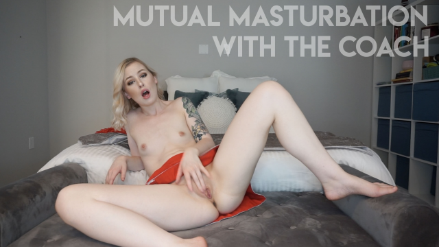 Mutual Masturbation with the Coach video by Mystie Mae