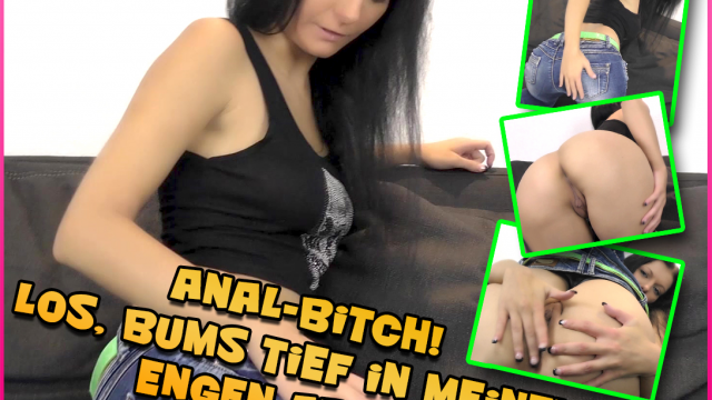 Anal Bitch! Come on, bang me deep in my tight Ass video from Laila-Banx