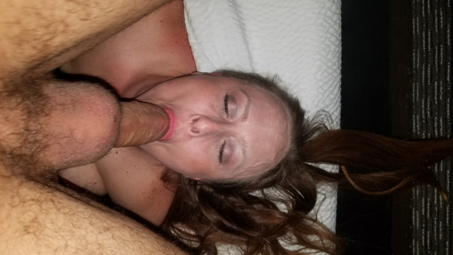 Slut Wife Gets Hotel Stranger Creampie video from Erin - Nerdy MILF Slut