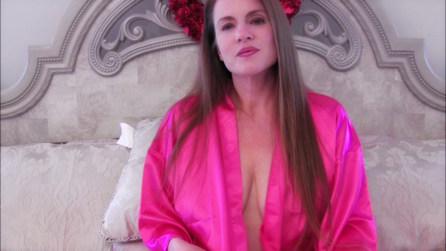 Sexy Mommy In Her Pink Robe Sucking and Fucking video from Nikki Nevada