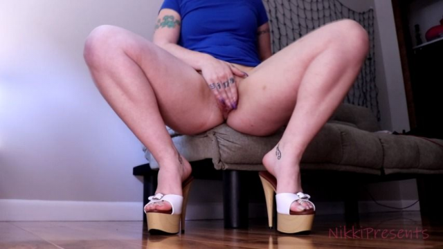 Toe Fetish JOI Mules Tease #HighHeels video from Nikki Lei