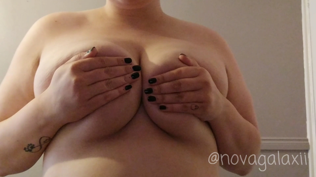 #CharityDomme Tit Worship! video from NovaGalaxii