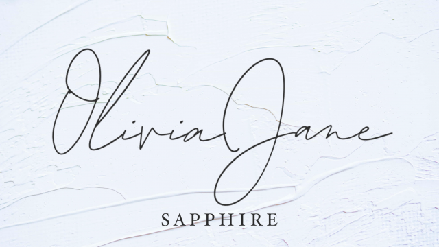 Sapphire video from OliviaJane