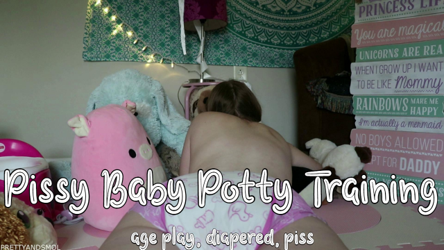 Pissy Baby Potty Training - CUSTOM video from Becky Kaye