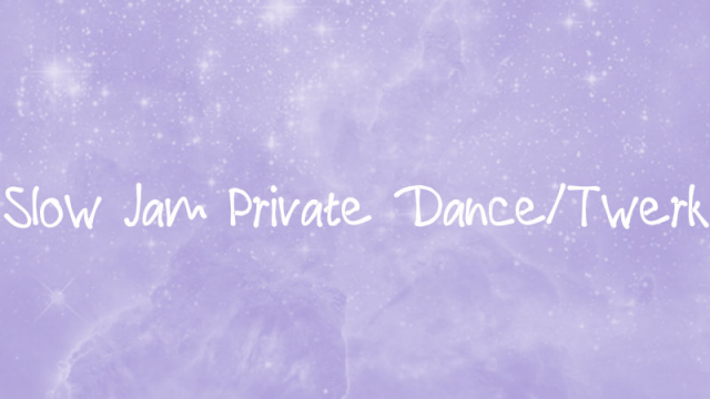 Slow Jam Private Dance/Twerk video from Primrose
