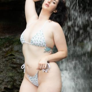 Raven in a Waterfall photo gallery by Raven Noir