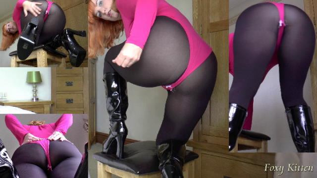 Worship my Ass in a Leotard JOI video from RedDesire