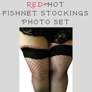 REDHOT FISHNET STOCKINGS photo gallery by RedHot Panties
