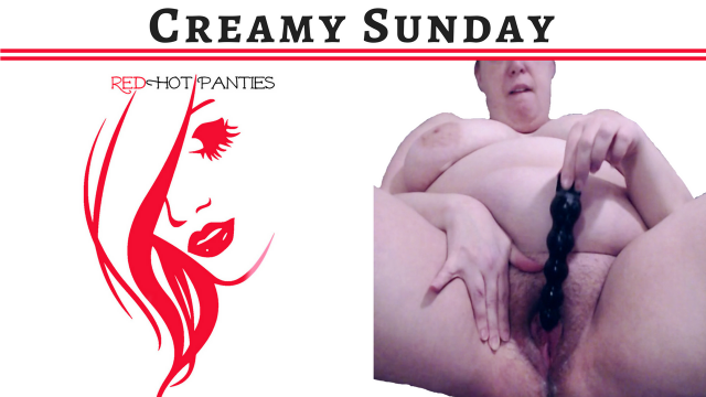 CREAMY SUNDAY video from RedHot Panties