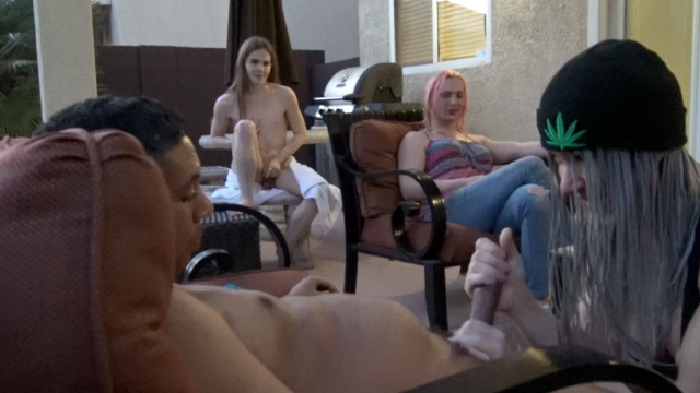 Tranny House Hot Tub Party video from TSRyley