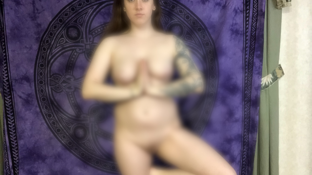 Bare Naked Yoga video from Sally Scissorhands