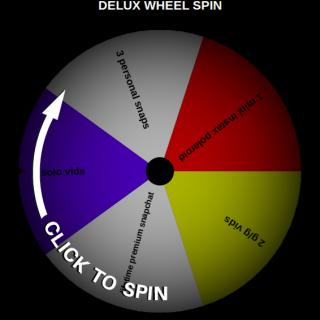 DELUX Snapchat Takeover Prize Wheel Spin 10 Tokens! photo gallery by Selina Kyl