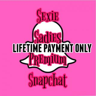 Snapchat Premium photo gallery by Sexie Sadie