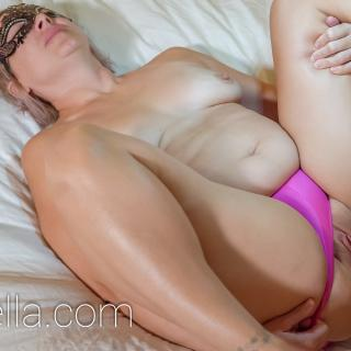 Cheating Wife Pink Panties Shoot photo gallery by SexWithMilfStella