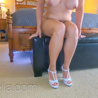 HIGH HEELED HEDONISM E01: Milf Anal In White photo gallery by SexWithMilfStella