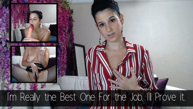 Teasing the Boss to Get the Job I Deserve video by Sally Smiles