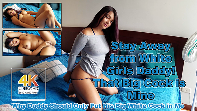 Stay Away From Stupid White Girls - Big White Daddy Dick is Mine video from Sofia Gomez