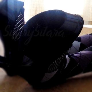 Sitara's Black Heel Pic Collection photo gallery by Sultry Sitara