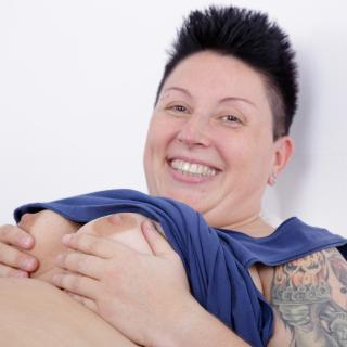 fun with a delicious vibrator photo gallery by TattooGirl