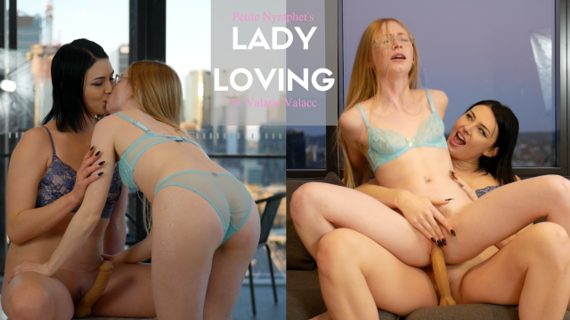 Lady Loving: Pussy Eating & StrapOn Fuck video from Petite Nymphet