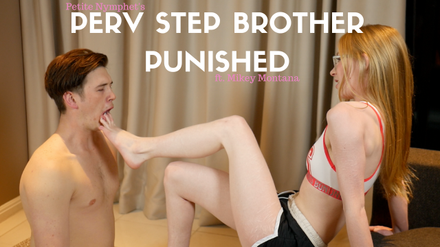 Perv Step Brother Punished video from Petite Nymphet