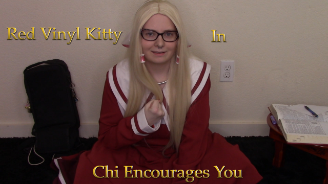 Chi Encourages You video by Red Vinyl Kitty