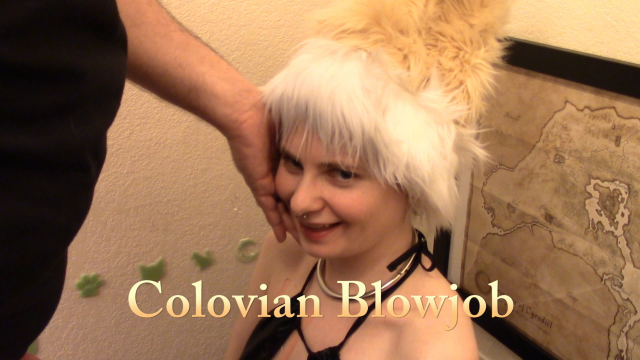 Colovian Blowjob video from Red Vinyl Kitty