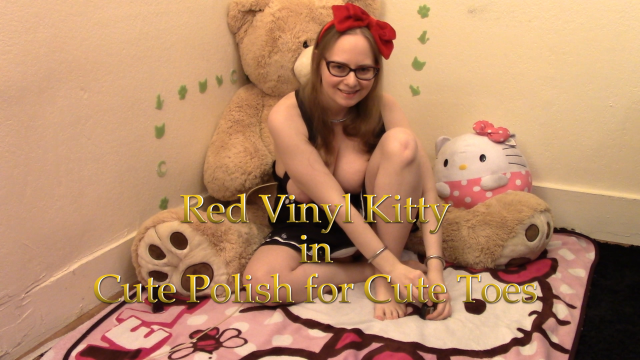 Cute Polish for Cute Toes video from Red Vinyl Kitty