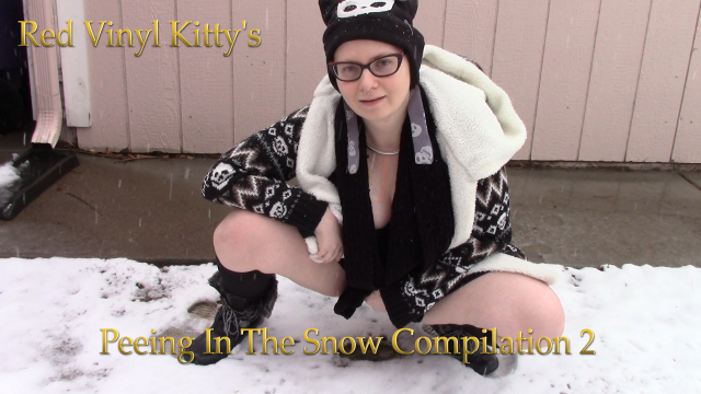 Peeing In The Snow Compilation 2 video by Red Vinyl Kitty