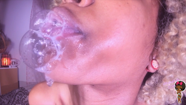 Oral Fixation/Spit Fetish video from XMochaPuffx